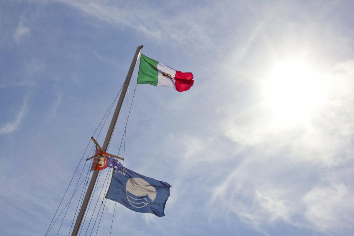 Anche per il 2021 Darsena Le Saline è 'Bandiera Blu' degli approdi turistici