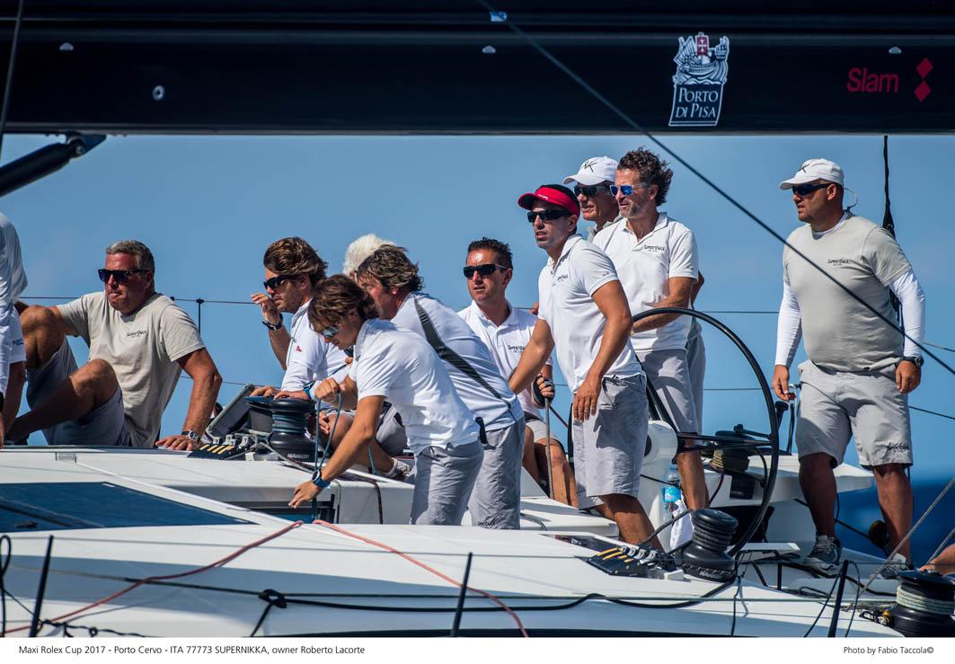 La vittoria di Supernikka con Enrico Zennaro alla Maxi Yacht Rolex Cup