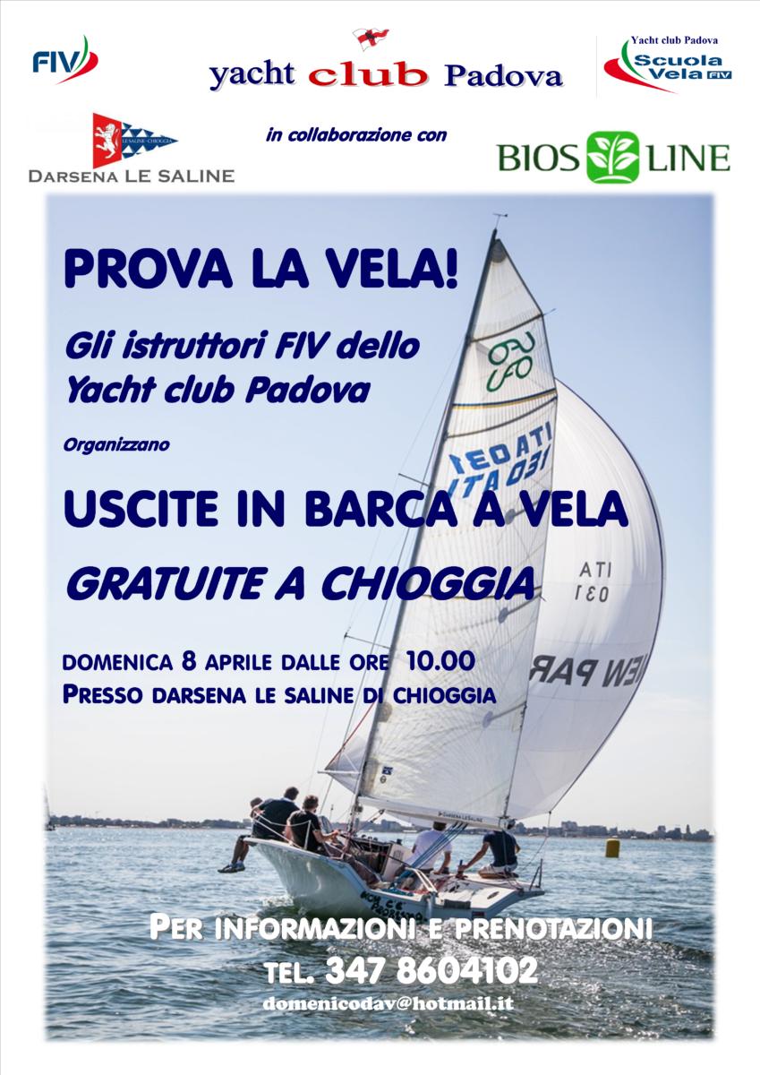 Prova la vela con lo Yacht Club Padova