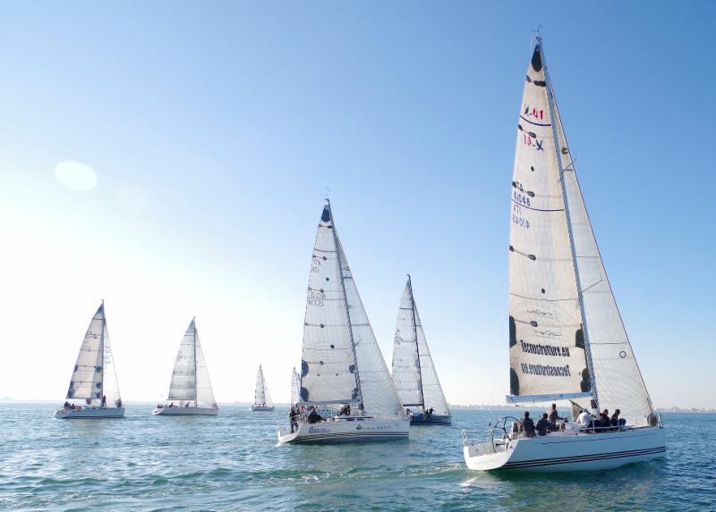 Campionato Nazionale dell'Adriatico, la flotta verso Chioggia