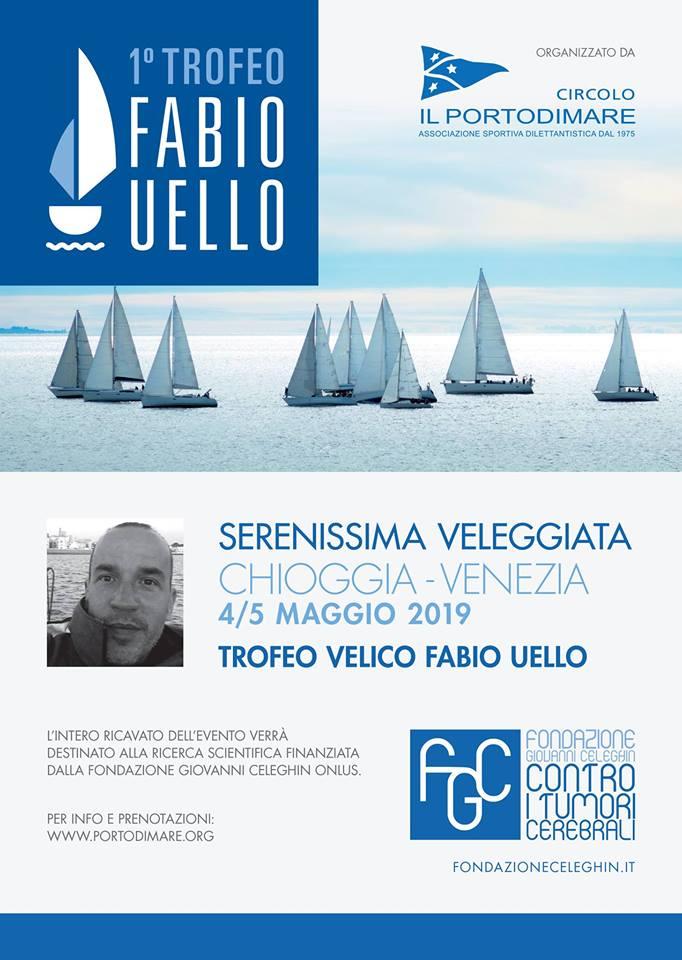 """Il 4 e 5 maggio, la """"Serenissima Veleggiata"""", prima edizione del Trofeo Memorial Fabio Uello"""