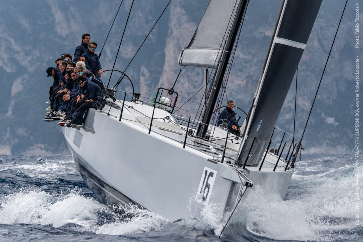Enrico Zennaro terzo al Maxi Yacht Capri Trophy con Super Nikka