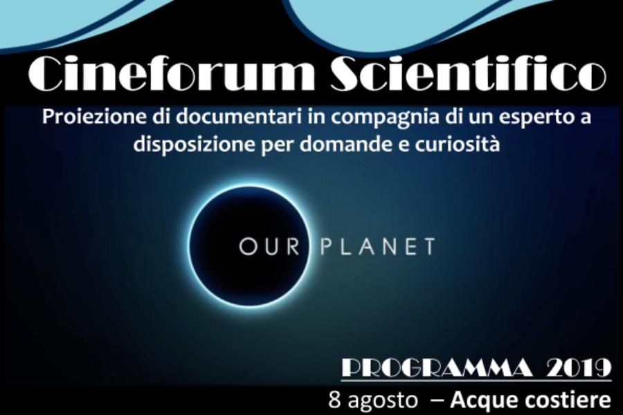 """Il Cineforum scientifico al museo di zoologia adriatica """"G.Olivi"""""""