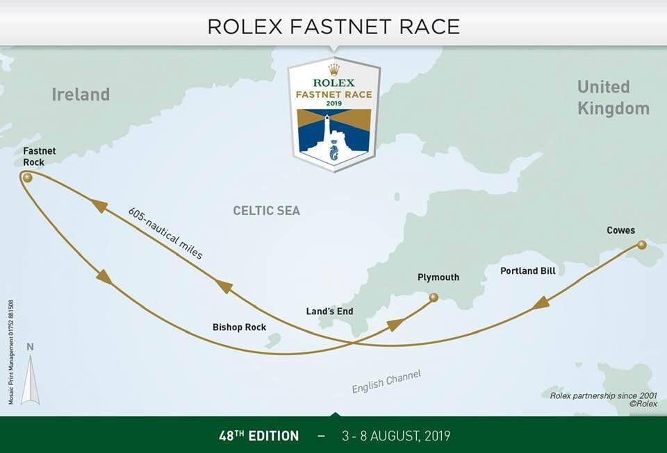 Oggi il via del Rolex Fastnet, c'è anche Enrico Zennaro