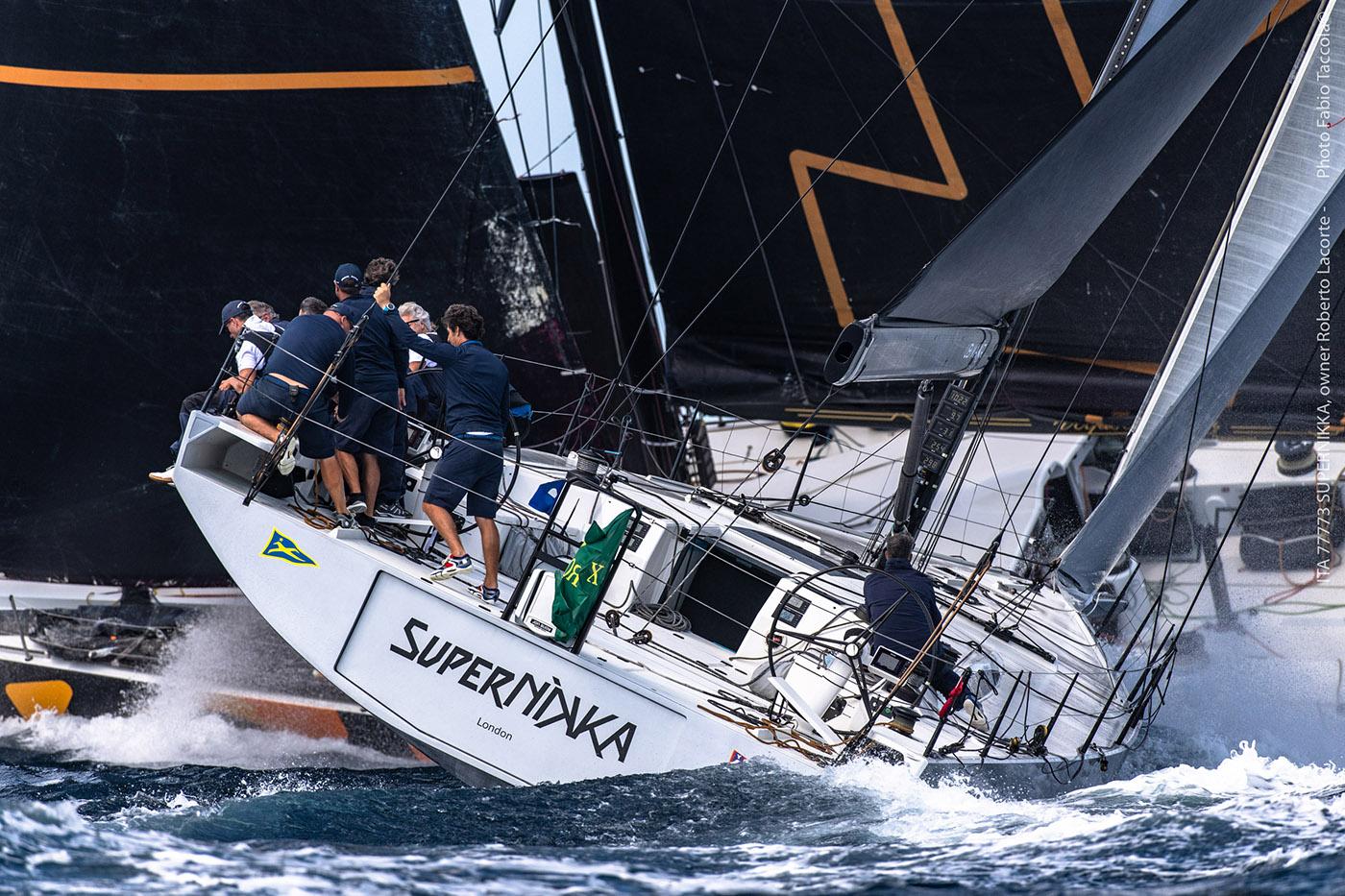 Enrico Zennaro su Supernikka vince la Maxi Yacht Rolex Cup