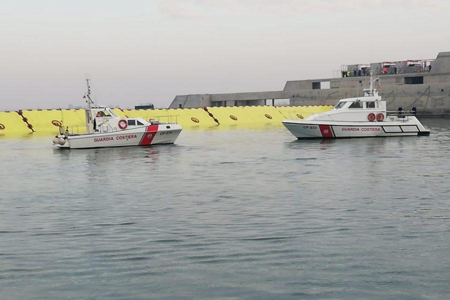 Interdizione al traffico marittimo nelle bocche di porto del 06 novembre