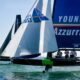 Enrico Zennaro secondo sul podio della Youth Foiling Gold Cup con Young Azzurra