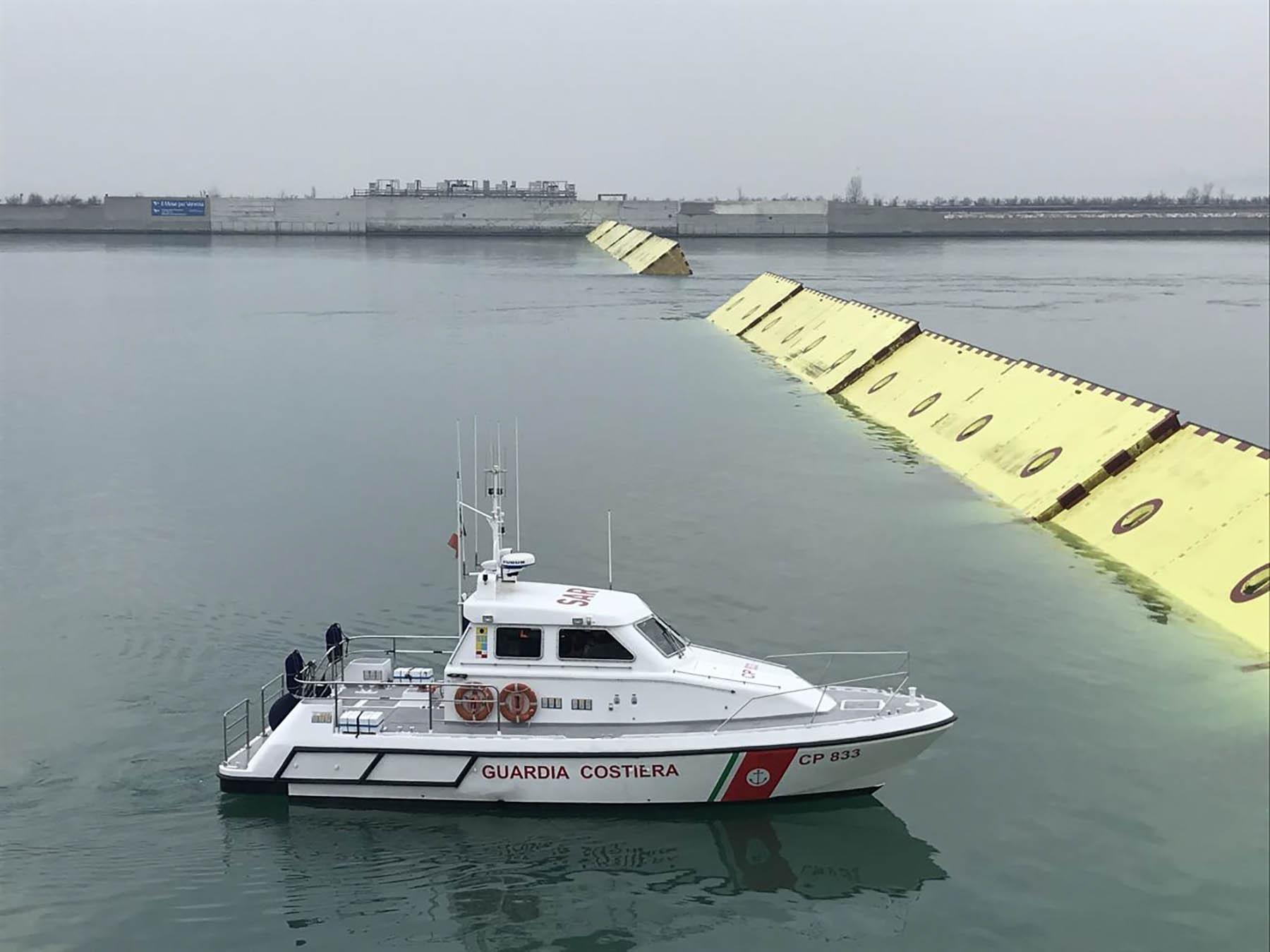 Mo.S.E., il 16 aprile un nuovo test con l'interdizione di tutto il traffico marittimo
