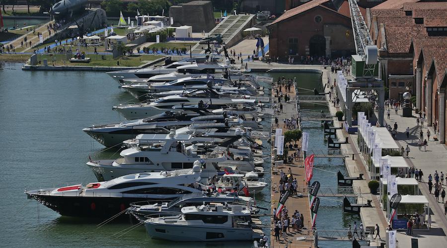 Darsena Le Saline al Salone Nautico Venezia 2021